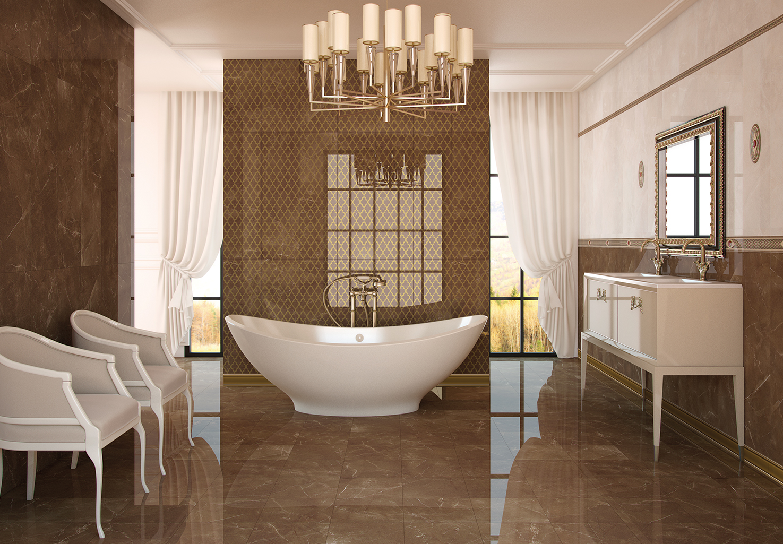 . VIVO MALTA BATHROOM AND FLOOR TILES